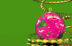Happy christmas background design Royalty Free Stock Photo