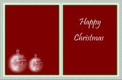 Happy christmas card Stock Photos