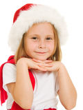 Happy Christmas child Stock Photos