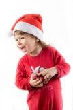 Happy Christmas Child Royalty Free Stock Photos