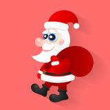 Happy Christmas companions. Royalty Free Stock Images