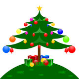 Happy Christmas day. Christmas day draw images concept Royalty Free Stock Image