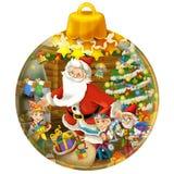 Happy christmas decoration Royalty Free Stock Photos