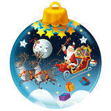 Happy christmas decoration Royalty Free Stock Images