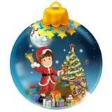Happy christmas decoration Stock Photos