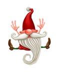 Happy Christmas elf Royalty Free Stock Photography