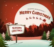 Happy Christmas Holidays Background Royalty Free Stock Photo