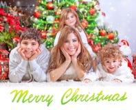 Happy Christmas holidays Stock Photography
