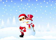 Happy Christmas. Is a  illustration Stock Images