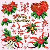 Happy Christmas & New-Year's Royalty Free Stock Images