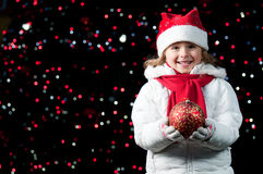 Happy Christmas night Royalty Free Stock Photos
