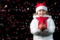 Happy Christmas night Royalty Free Stock Photos