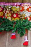 Happy Christmas pickles from Romania Stock Images