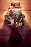 Happy Christmas pixie Stock Photography
