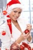 Happy christmas portrait Stock Image