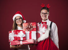 Happy Christmas Royalty Free Stock Photos