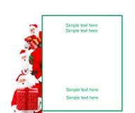Happy Christmas Santa Stock Photo