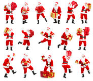 Happy Christmas Santa stock photo