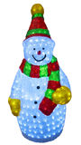 Happy Christmas Snowman Royalty Free Stock Images