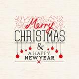 Happy Christmas Vector Stock Photos