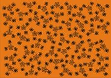 Happy Halloween Wallpaper Background Giftwrap Stock Photos