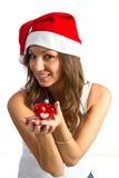 Happy Christmas Woman Royalty Free Stock Photo
