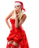 Happy christmas woman Royalty Free Stock Photography