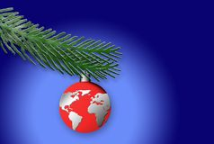 Happy Christmas World Royalty Free Stock Images