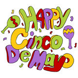 Happy Cinco De Mayo Stock Images