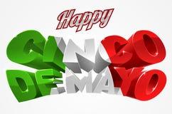 Happy Cinco De Mayo Stock Photography