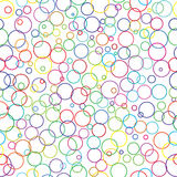 Happy circles stock illustration