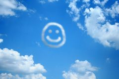 Happy Cloud Royalty Free Stock Photography
