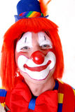 Happy Clown. Happy Smiling Circus Clown in Full Costume Stock Photo