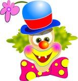 Happy Clown. Illustration isolated on white Vector Illustration