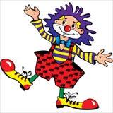 Happy clown Royalty Free Stock Image