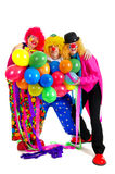 Happy clowns Royalty Free Stock Photo