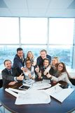 Happy co-workers Stock Image