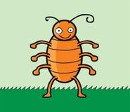 Happy cockroach Stock Image