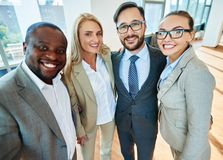 Happy colleagues Royalty Free Stock Photos