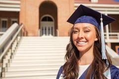 Happy College Graduate Stock Photography