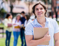 Happy college student Stock Photography