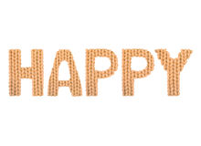 Happy. Color orange Stock Photos