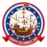 Happy Columbus Day Stock Photos