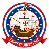Happy Columbus Day Stock Photos