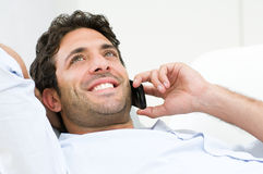 Happy communication Stock Photography