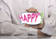 Happy Concept Royalty Free Stock Photography