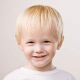 Happy, confident boy smiling Stock Photos