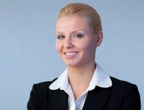 Happy and confident Businesswoman Stock Image
