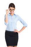 Happy Confident Businesswoman Stock Photography
