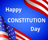 Happy Constitution day Royalty Free Stock Photo